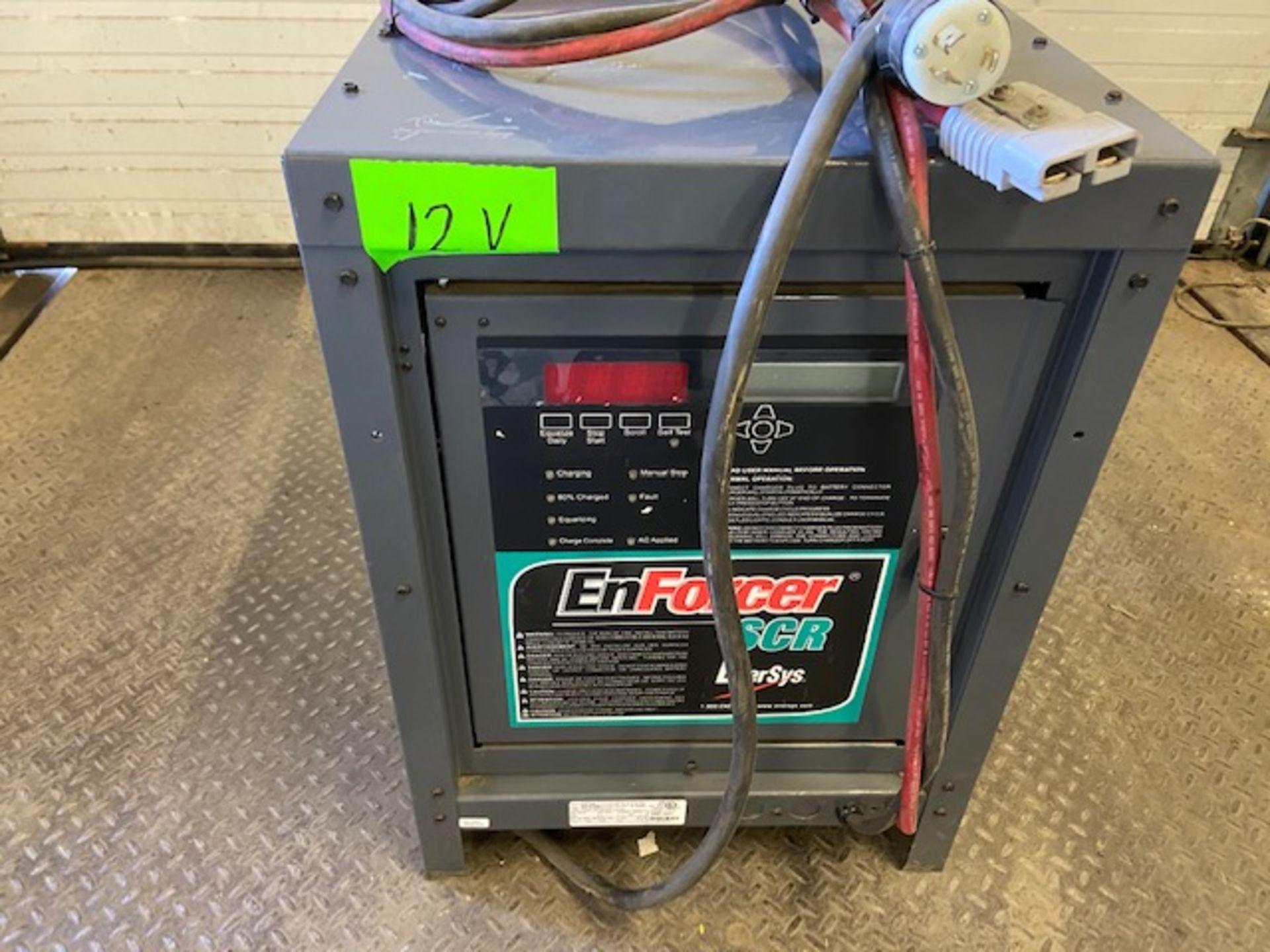 Enforcer Enersys battery charger model ES1-6-5508