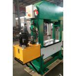 Bernardo Macchina model BHP-150 H-Frame Press 150 Ton Capacity - adjustable table height,