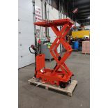 "MINT Omni Motorized Lift Table Platform 800kg / 1760lbs capacity and 1850mm / 73"" Lift Height UNUSED"