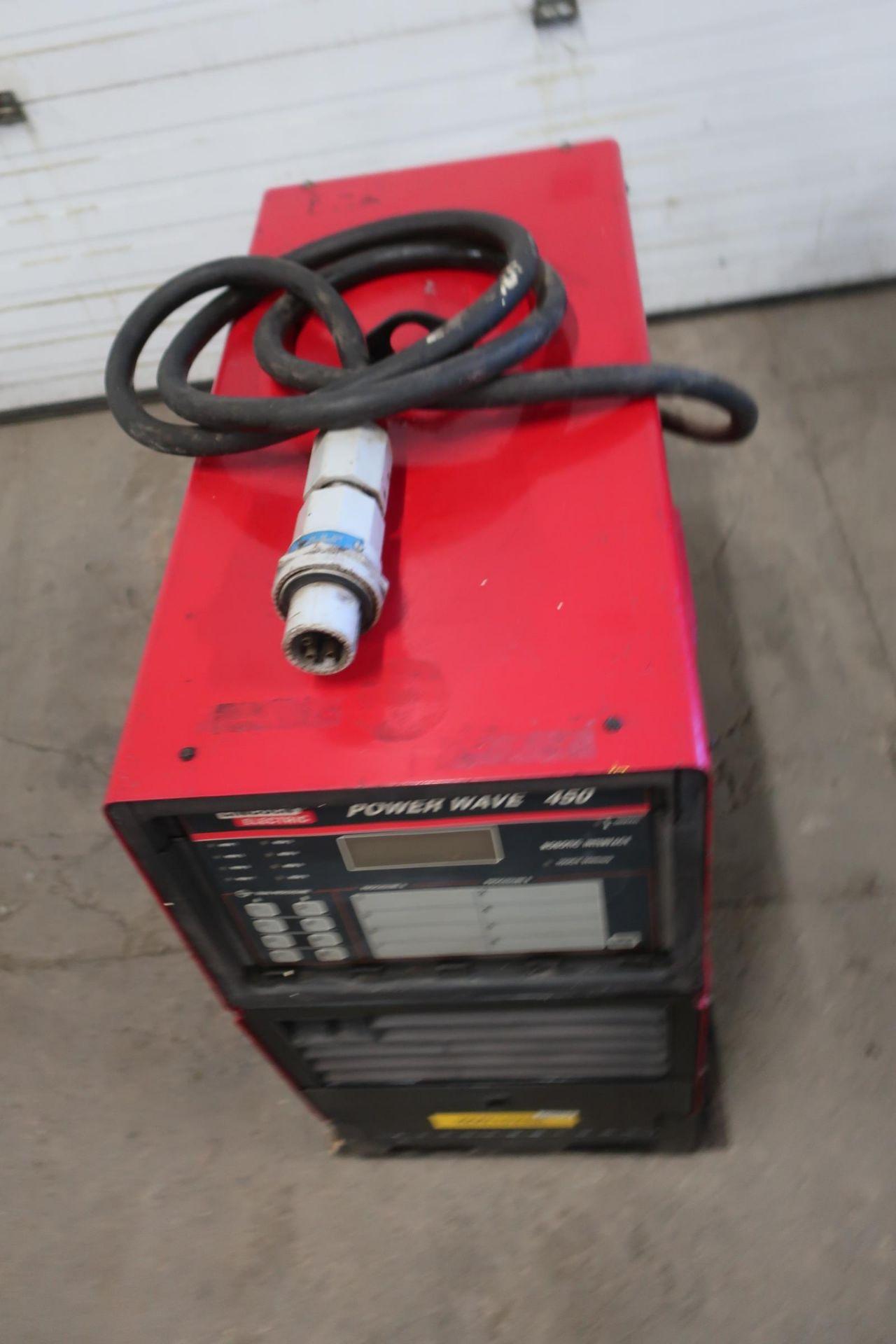 Lincoln Powerwave 450 Robotic Mig Welding Power Source - 450 amp - Image 2 of 2