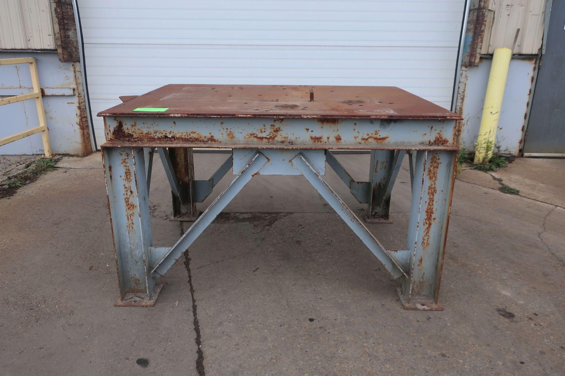 "Industrial Heavy Duty Work Table - 51 x 66 x 41"" tall"