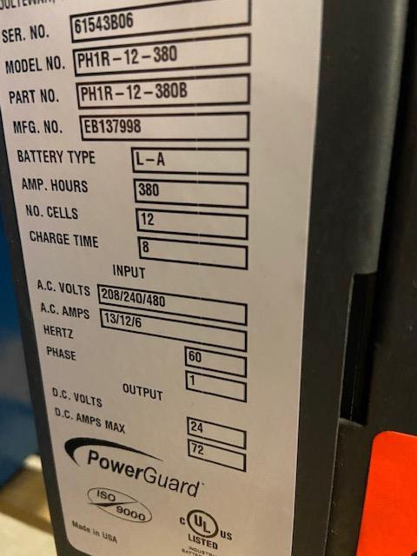 Hawker Pro PowerGuard HD Forklift Battery Charger 24V - 208/240/480V - Image 2 of 2