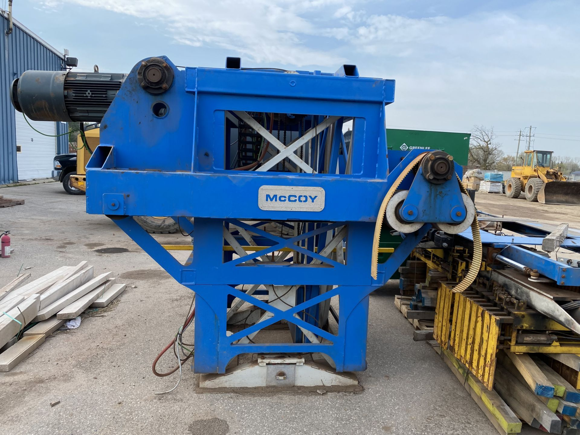 McCoy GR01 GANTRY STYLE BRICK / BLOCK CLAMP UNIT made in 2016 - Image 2 of 12