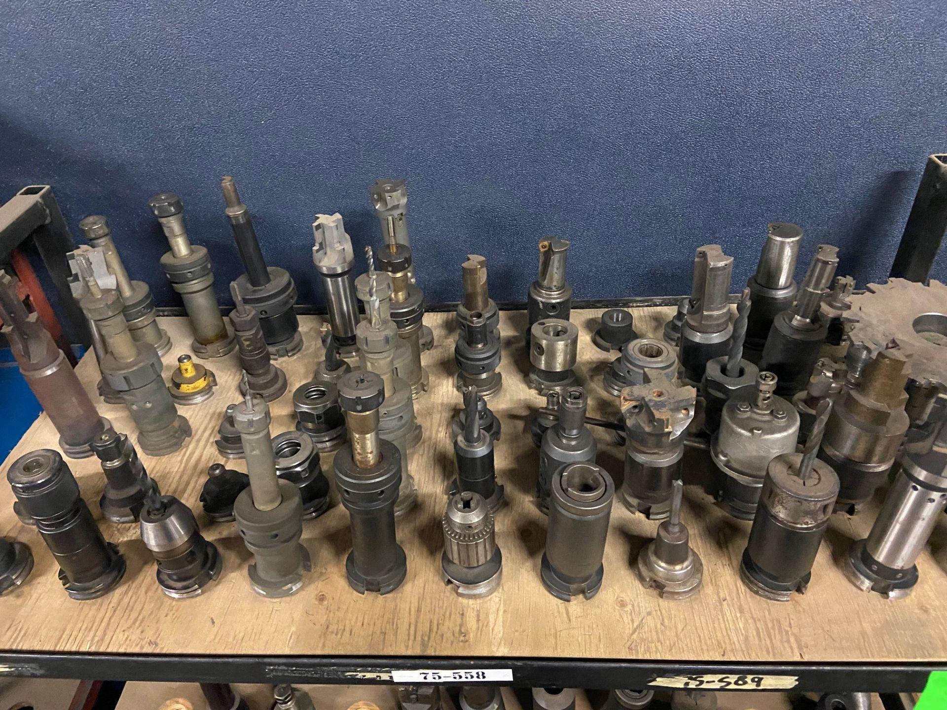 Large Lot of 55 Units CAT40 Tooling HUGE LOT MINT
