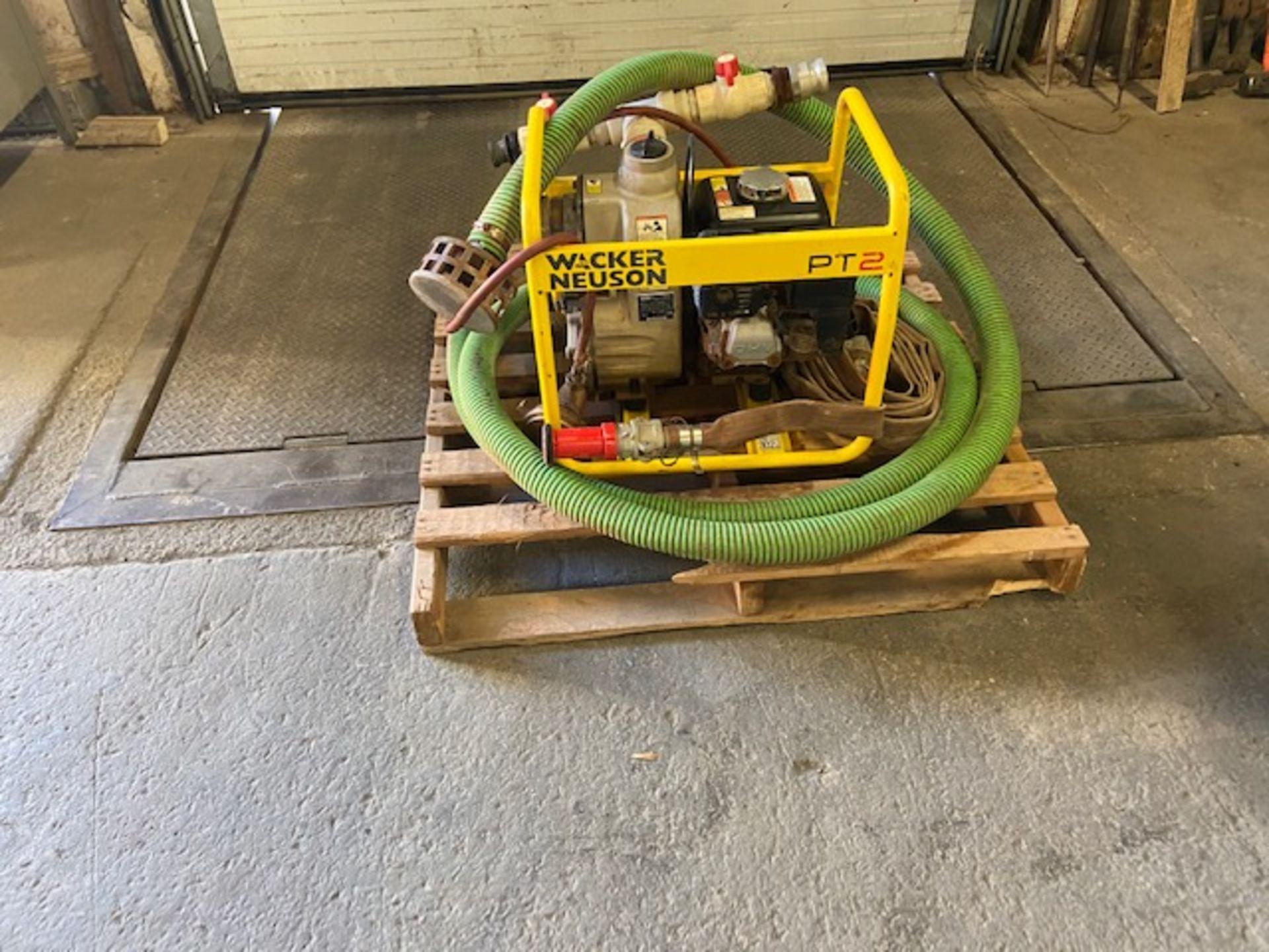 Wacker Neuson PT2 Water Pump Unit with Honda GX160 Motor