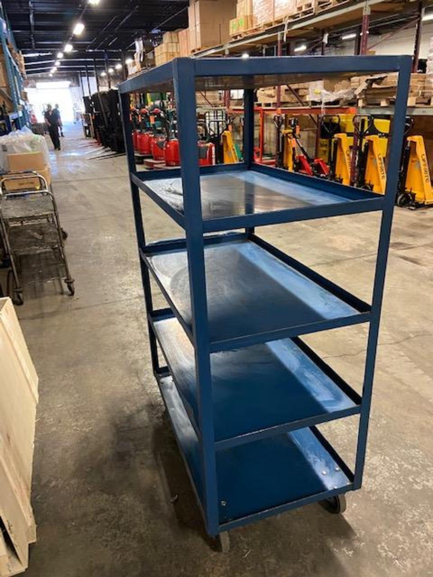 Rolling Cart - 5 Tier Shelves
