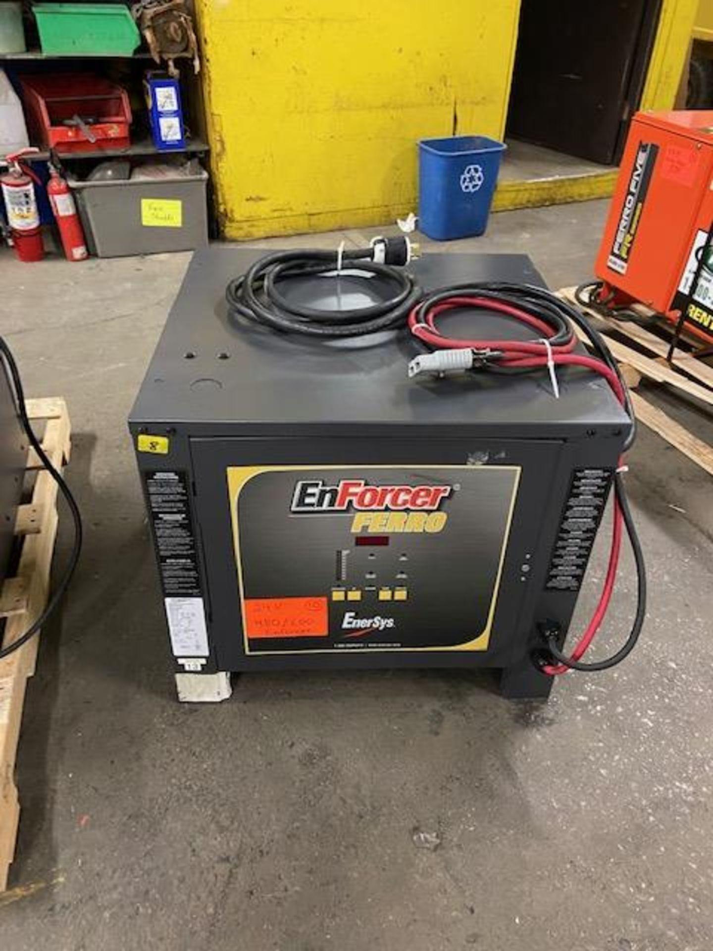 Enforcer 24V forklift battery charger
