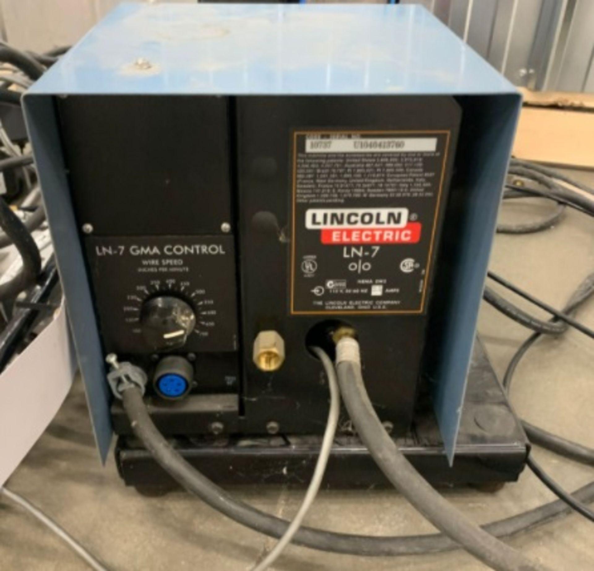 Lincoln LN7 Wire Feeder unit