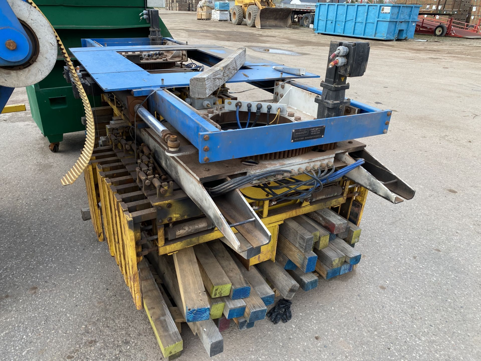McCoy GR01 GANTRY STYLE BRICK / BLOCK CLAMP UNIT made in 2016 - Image 7 of 12