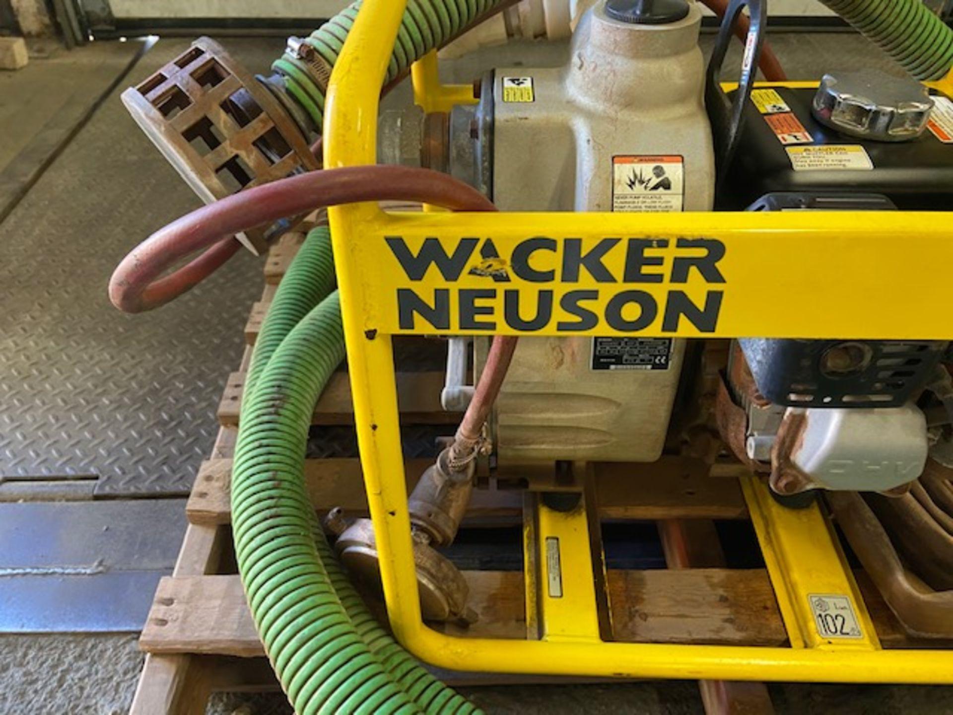 Wacker Neuson PT2 Water Pump Unit with Honda GX160 Motor - Image 2 of 3
