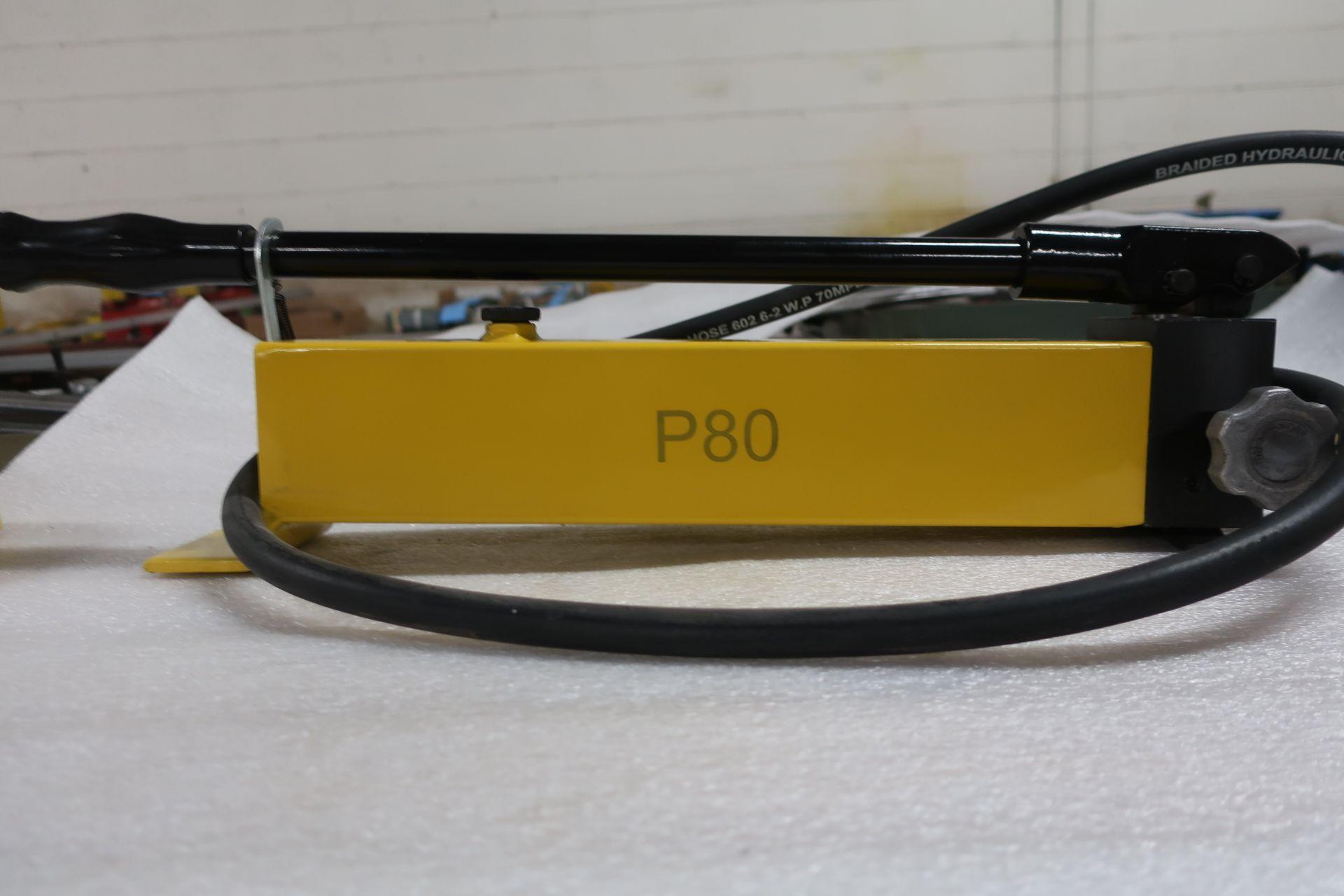 Hydraulic Hand Pump - MINT unit model P80 style