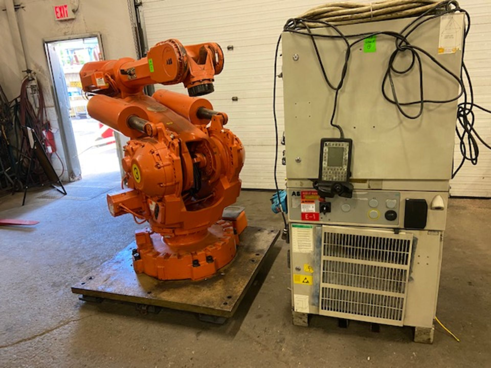 2008 ABB IRB 6400R Robotic Material Handler Package w/ Controller and end of arm tooling - Image 3 of 3