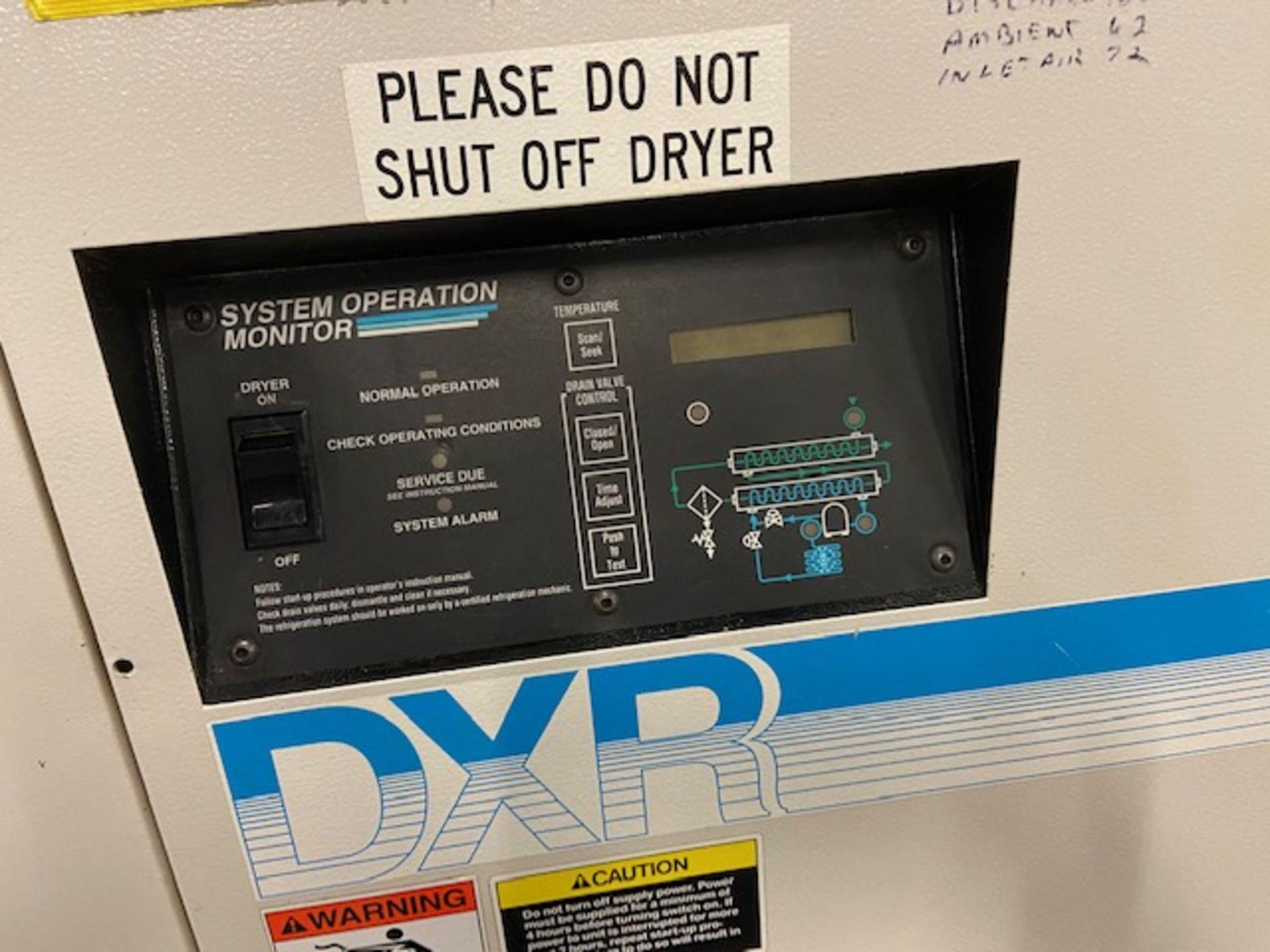 Ingersoll Rand DXR 1000 CFM Air Compressor Dryer Unit model DXR1000AB - Image 2 of 3