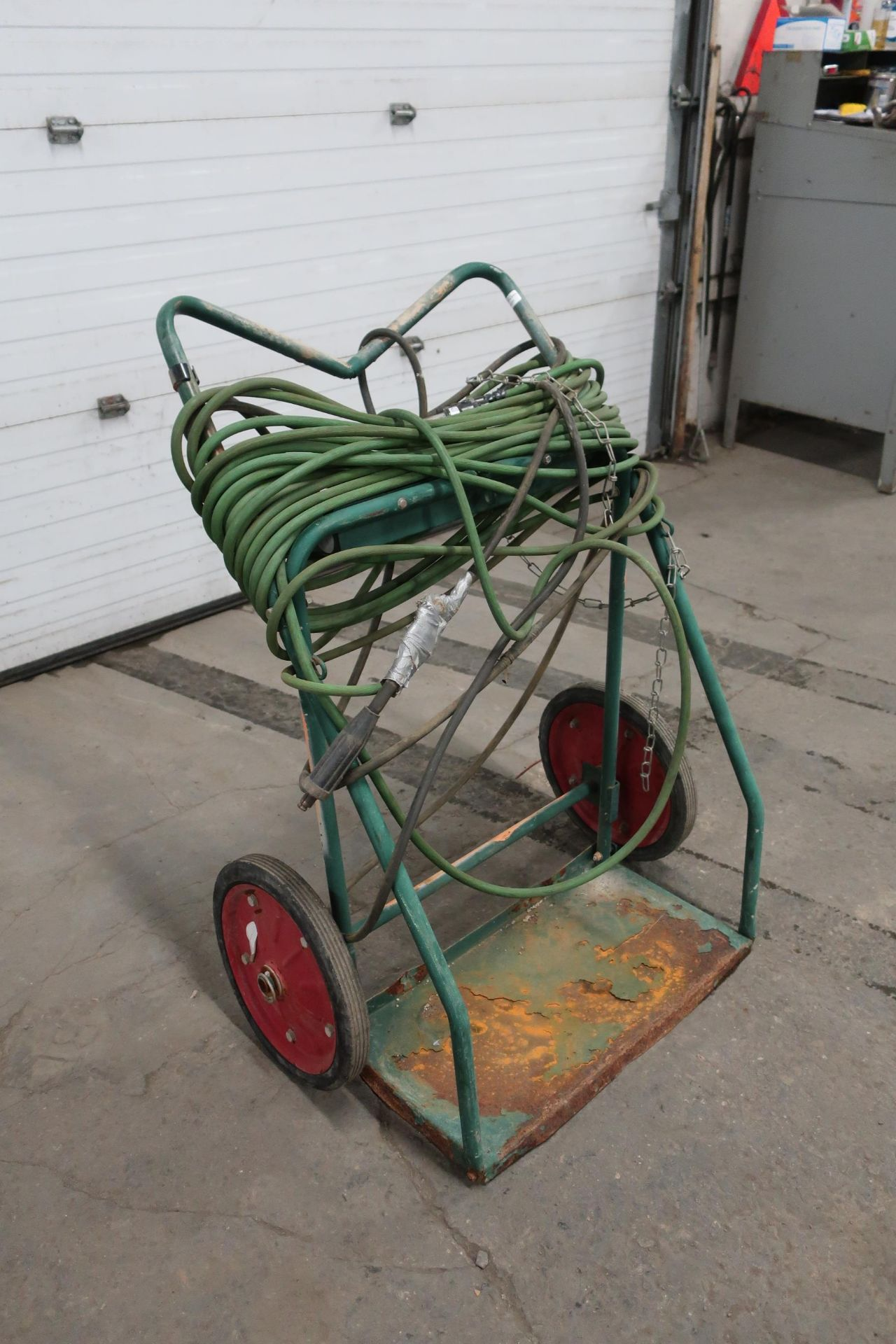 Torching Dolley Cart with Regulalor and Hose