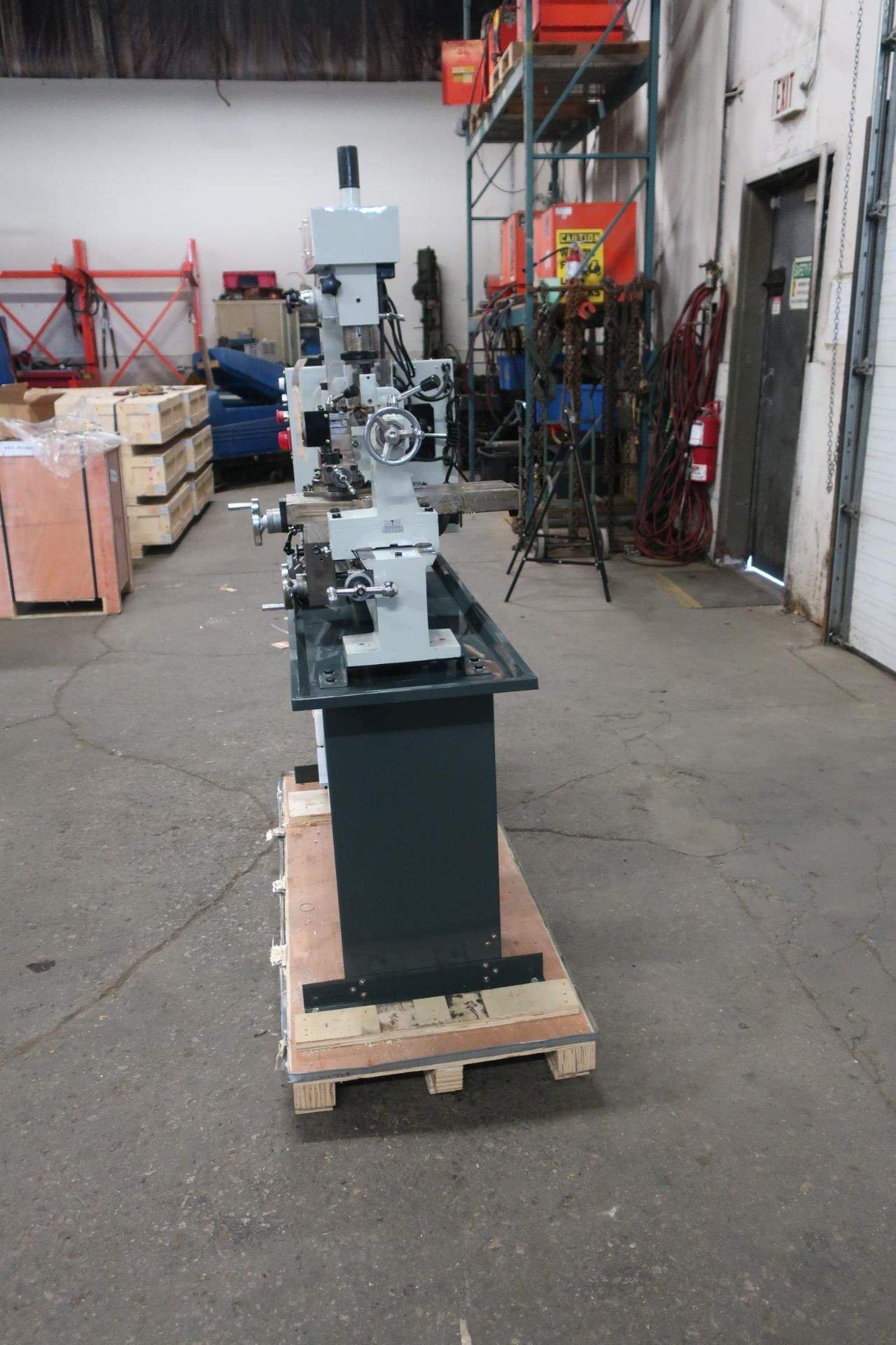 "Bernardo Lathe / Mill / Drill Combo LATHE: 31.5"" X 16.5"" swing, MT4 spindle, MT3 tailstock, DRILL/ - Image 3 of 3"