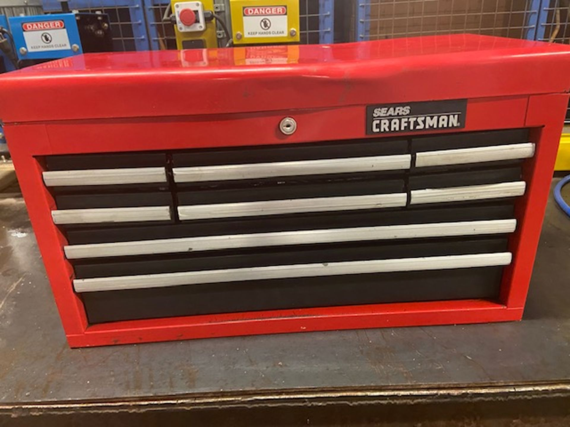 Mastercraft Heavy Duty Tool Cabinet LOADED with contents (hand tools, large drill bits and more)