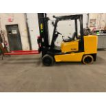 """FREE CUSTOMS - Yale 10000lbs Forklift with 72"""" forks MINT UNIT"""