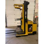 FREE CUSTOMS - Yale Order Picker Electric Powered Pallet Cart Lifter with low hours