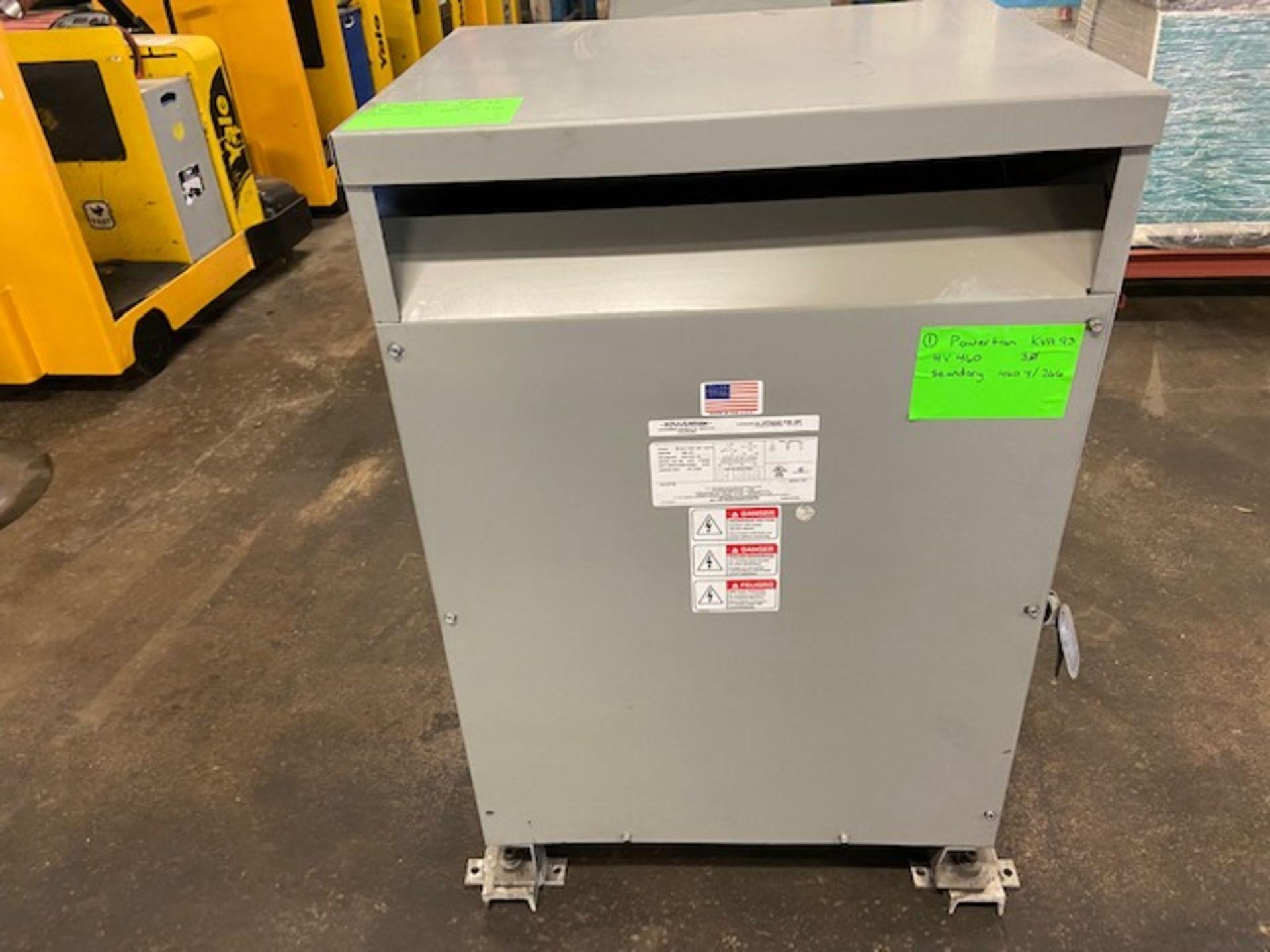 Powertran Electrical Transformer 93KVA 460/460Y/266V