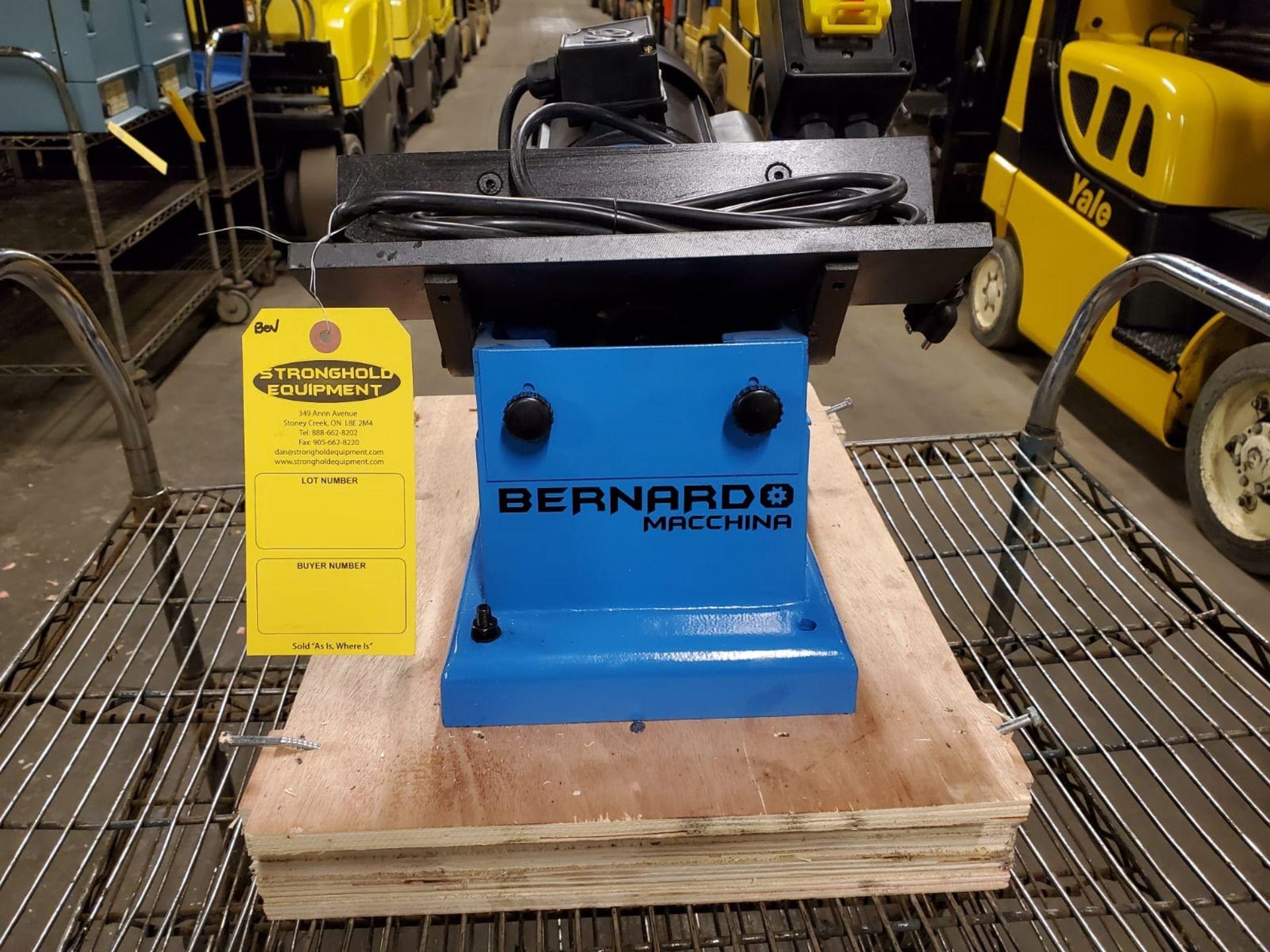 Bernardo Beveling Machine - Chamfering Beveler unit 115V 1 phase Unused MINT unit - Image 2 of 3