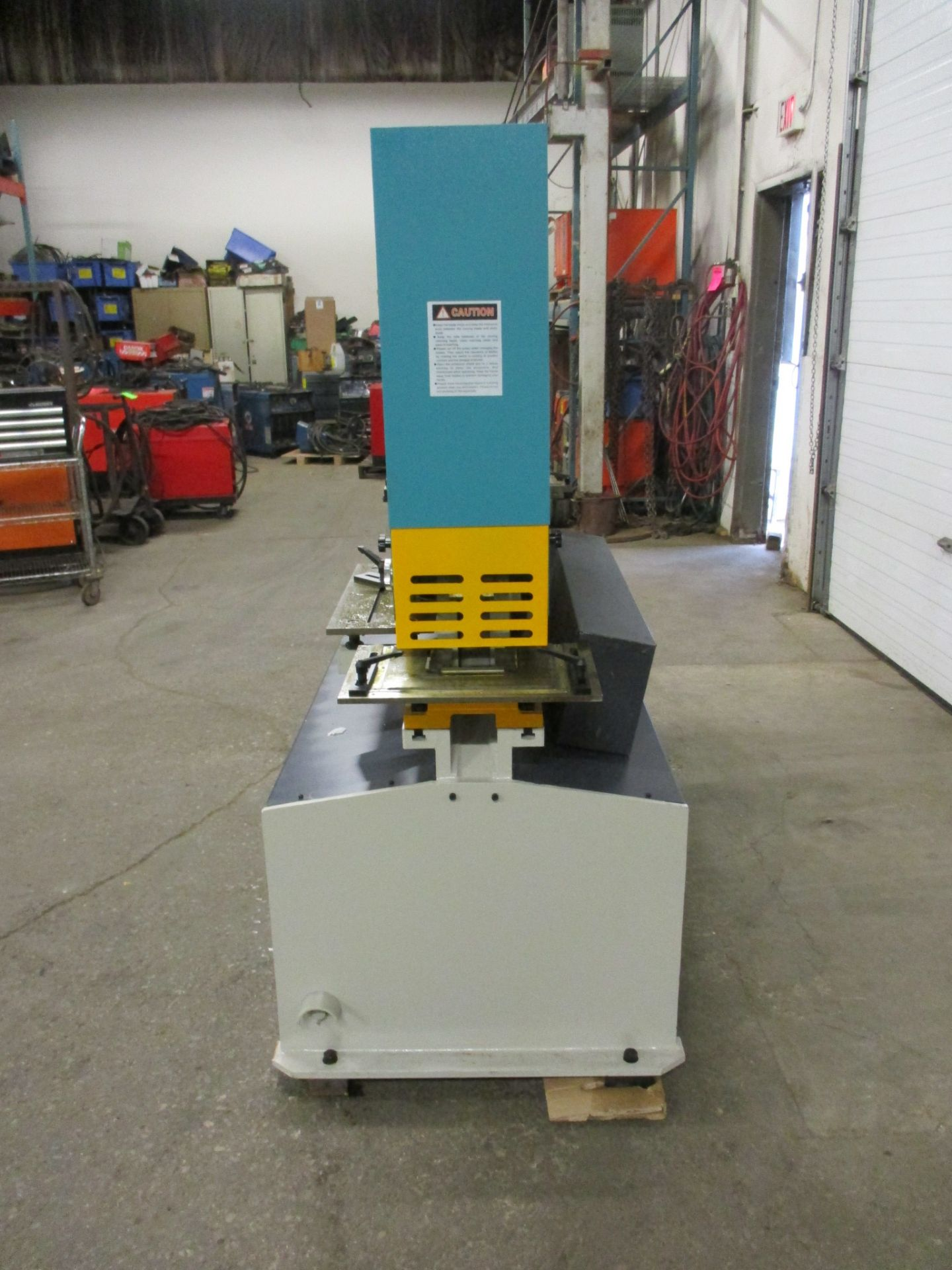 Bernardo Macchina 95 Ton Capacity Hydraulic Ironworker - complete with dies and punches - Dual - Image 3 of 4