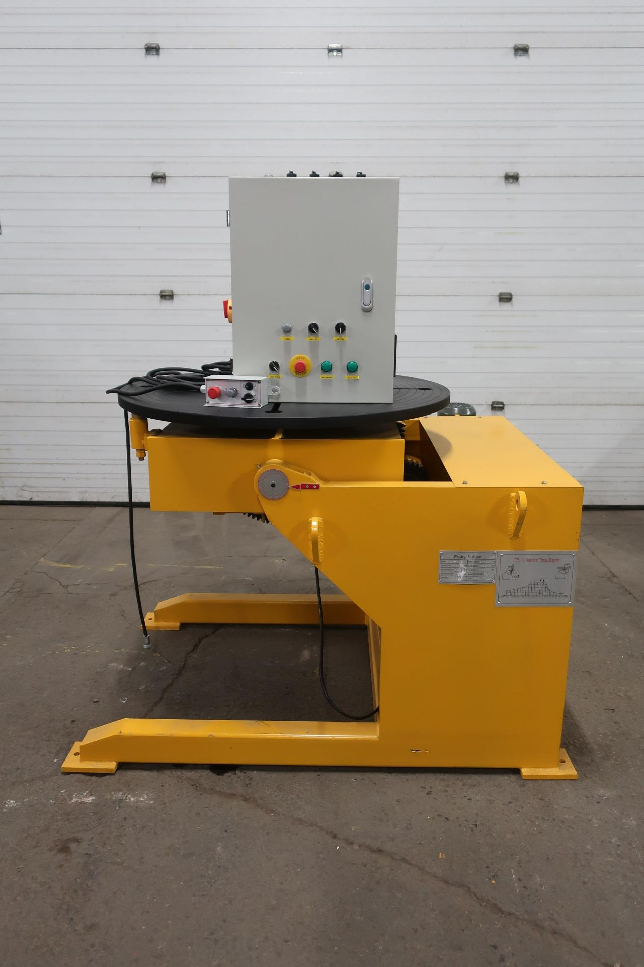 BWJ-10 WELDING POSITIONER 2200lbs 1000kg capacity - tilt and rotate with variable speed drive and