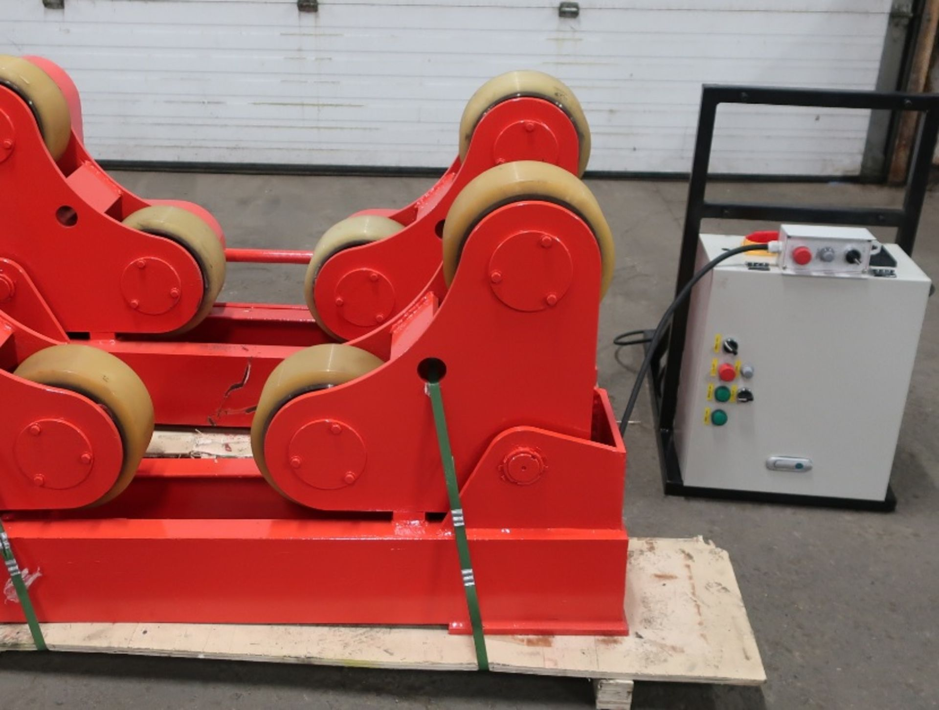 Verner Power tank rolls - Powered turning roll and idler 5TON or 10,000lbs capacity with wireless