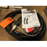 Bernard BRAND NEW Mig Gun Whip 300 amp 25' Long NIB 0.035-0.045