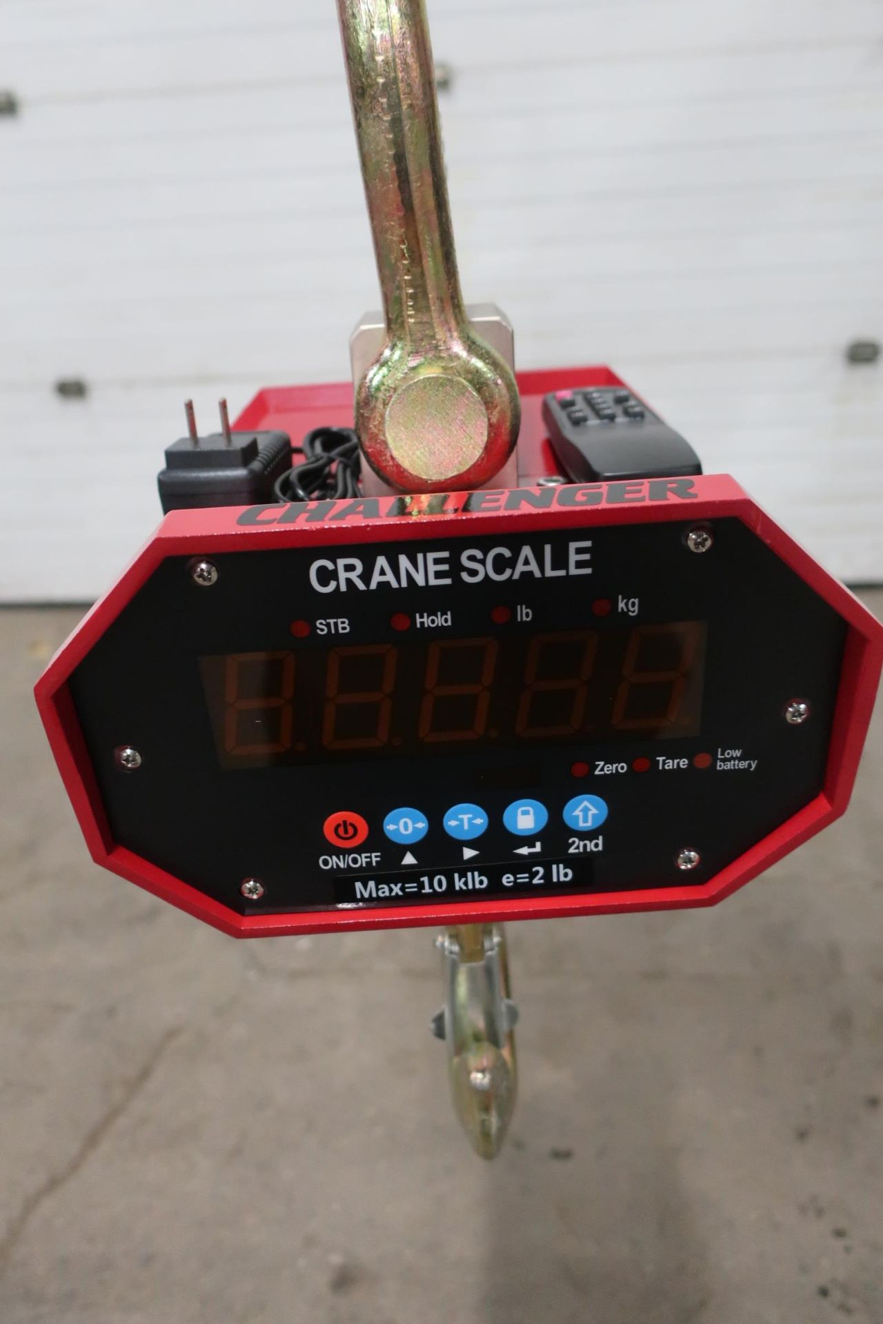 Hanging MINT Digital Crane Scale 20,000lbs 10 ton Capacity - complete with remote control and - Image 2 of 3