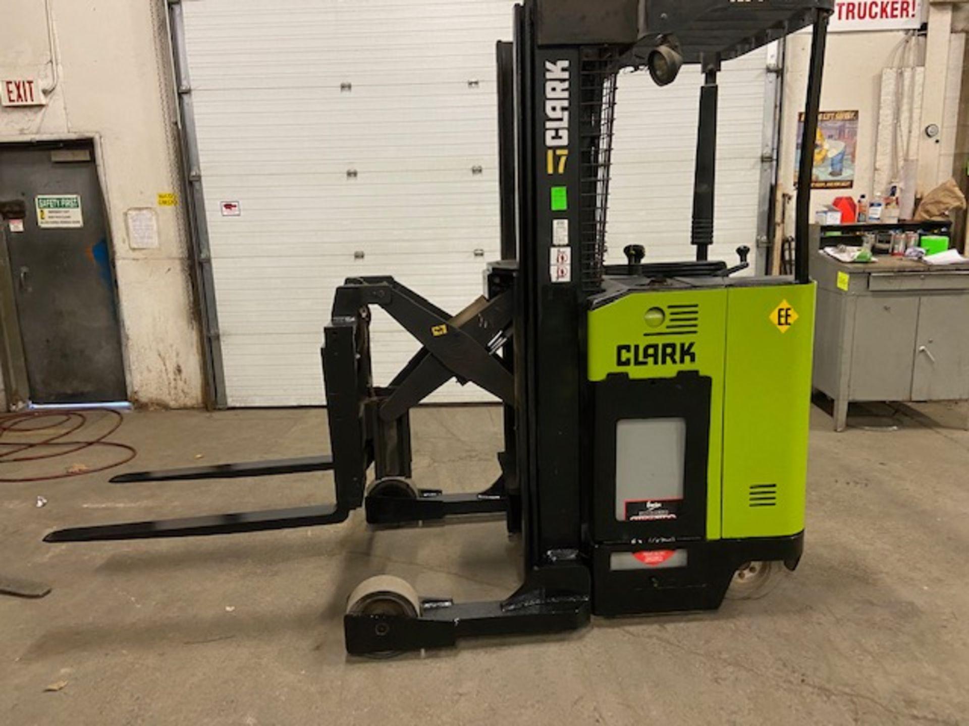 FREE CUSTOMS - Clark Reach Truck EXPLOSION PROOF (EE) Pallet Lifter 3500lbs capacity REACH TRUCK