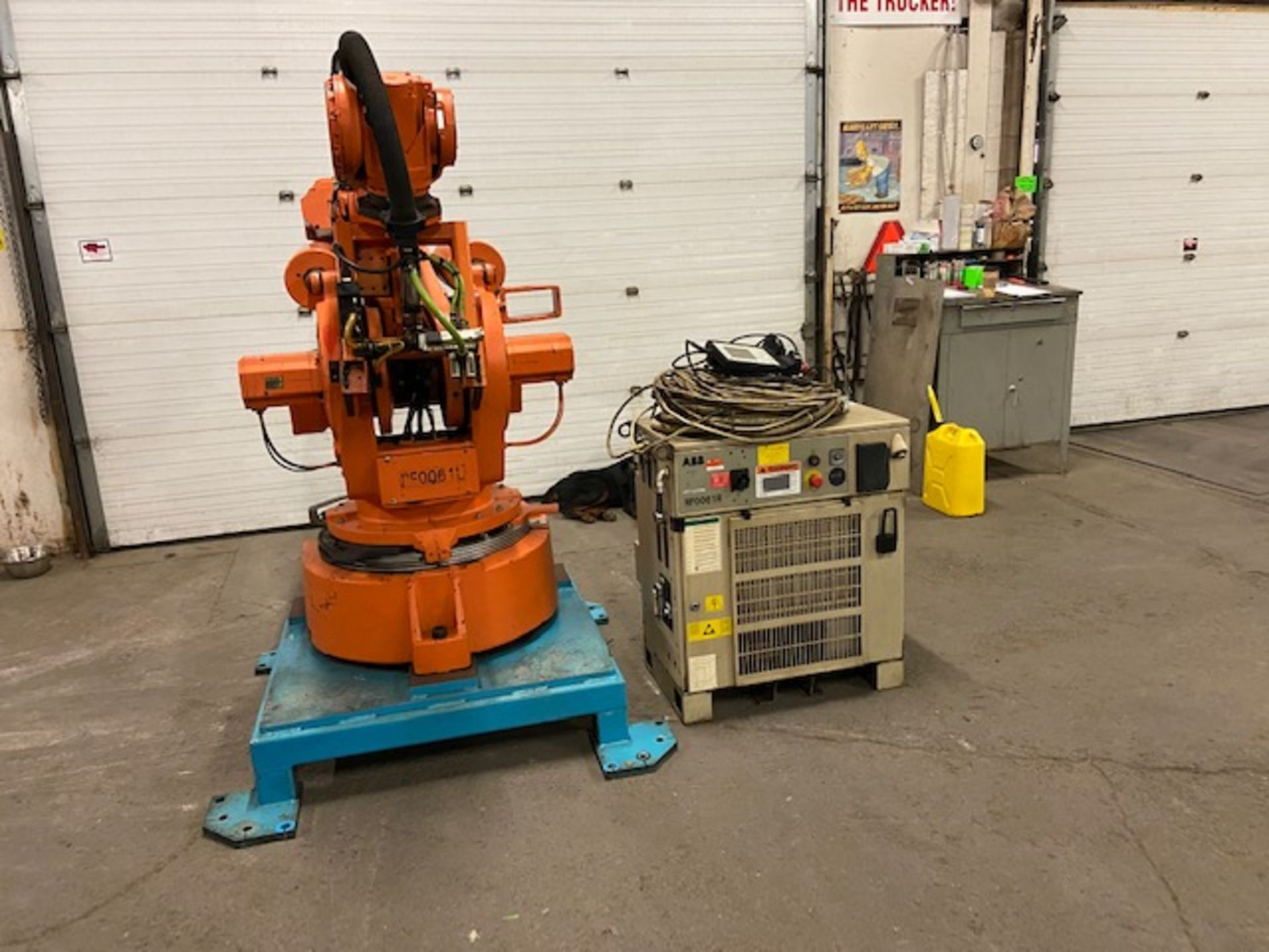 2008 ABB Robot IRB 6400 Handling Robot with ABB Controller & Teach Pendant and Cables complete - Image 2 of 4