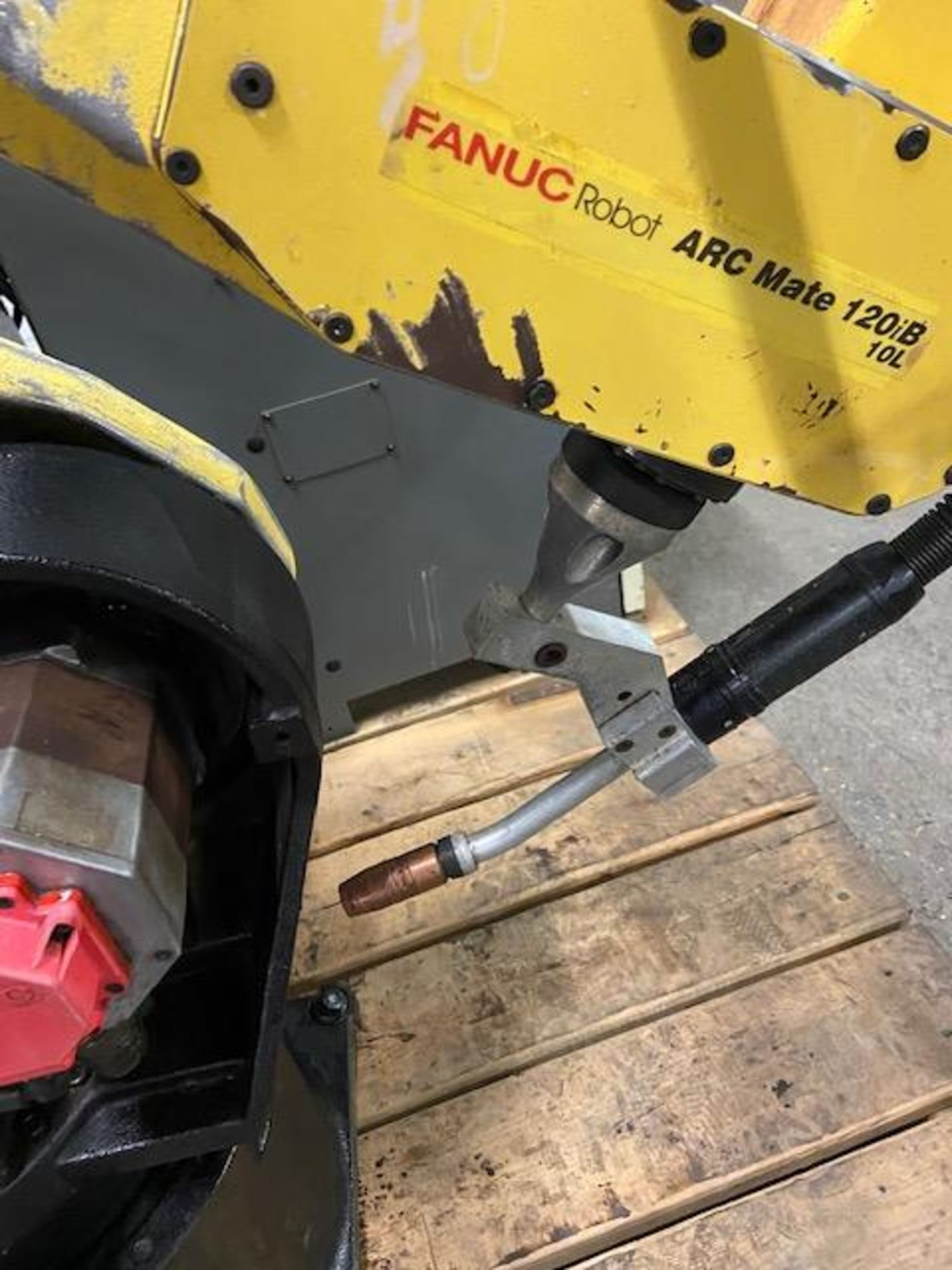 2008 Fanuc Arcmate 120iB / 10L Welding Robot with System FULLY TESTED with R30iA Controller, teach - Image 6 of 6