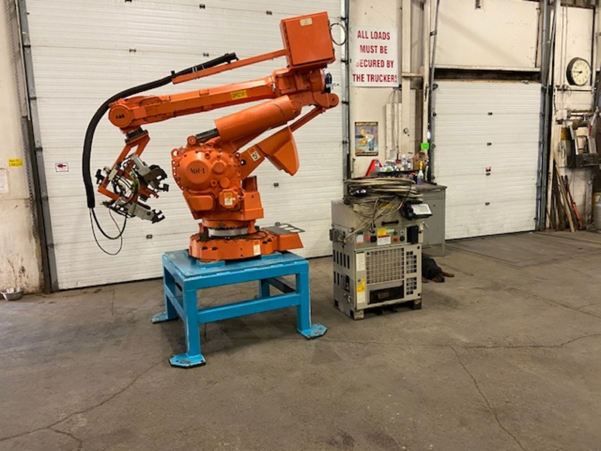 2008 ABB IRB 6400R Robotic Material Handler Package w/ Controller and end of arm tooling - Image 7 of 7
