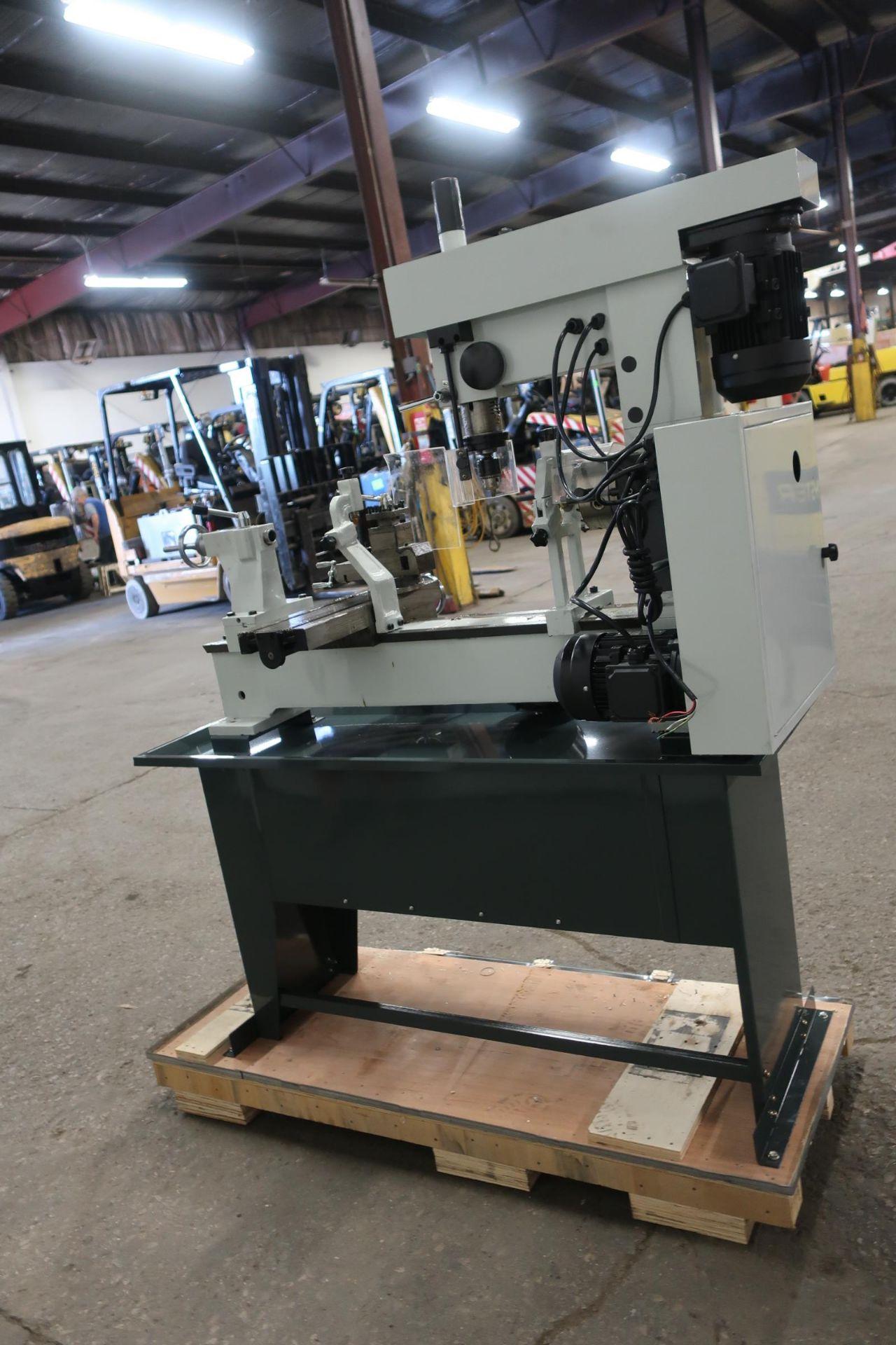 "Bernardo Lathe / Mill / Drill Combo LATHE: 31.5"" X 16.5"" swing, MT4 spindle, MT3 tailstock, DRILL/ - Image 2 of 3"