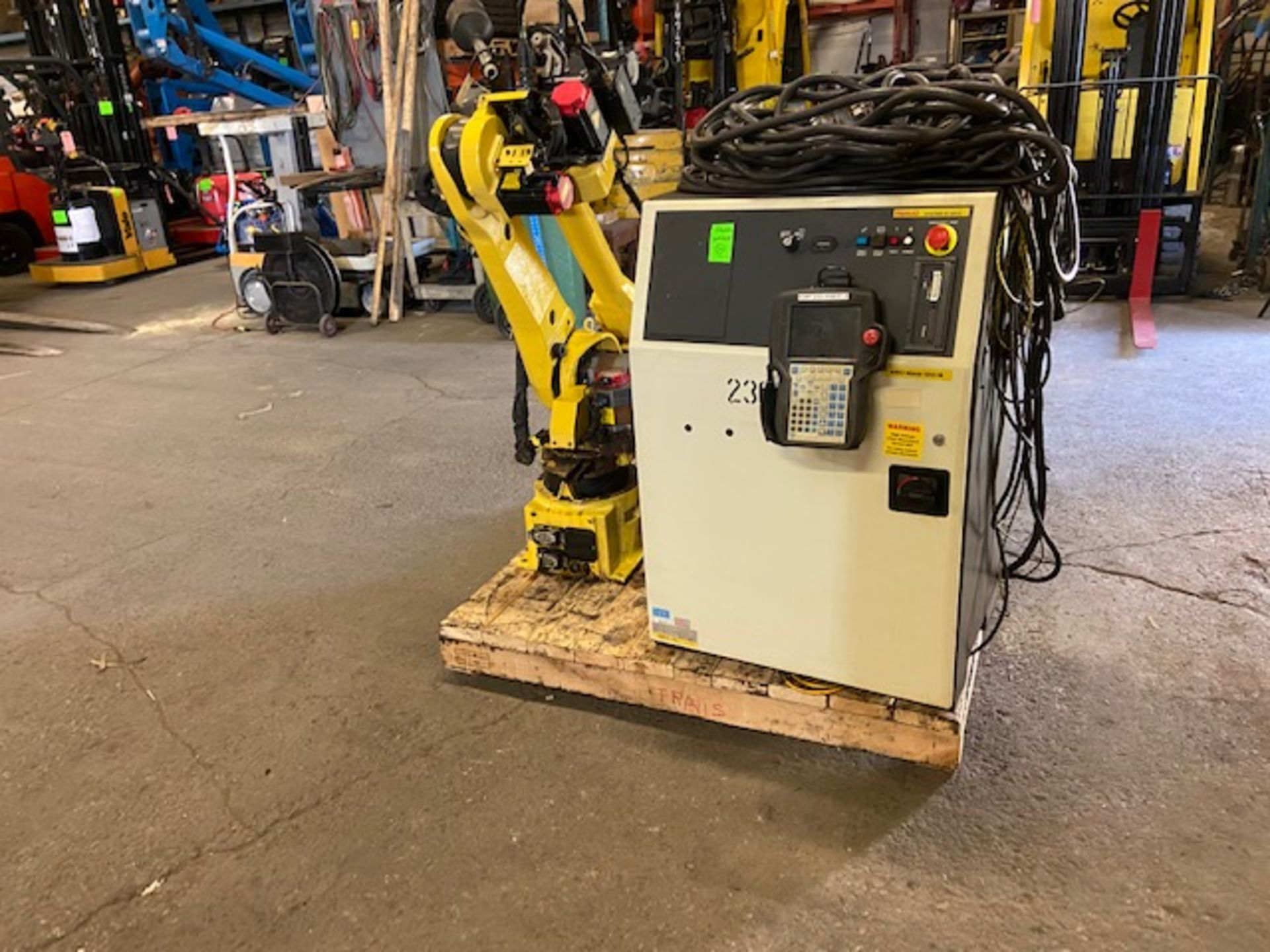 2008 Fanuc Arcmate 120iB / 10L Welding Robot with System FULLY TESTED with R30iA Controller, teach - Image 3 of 3