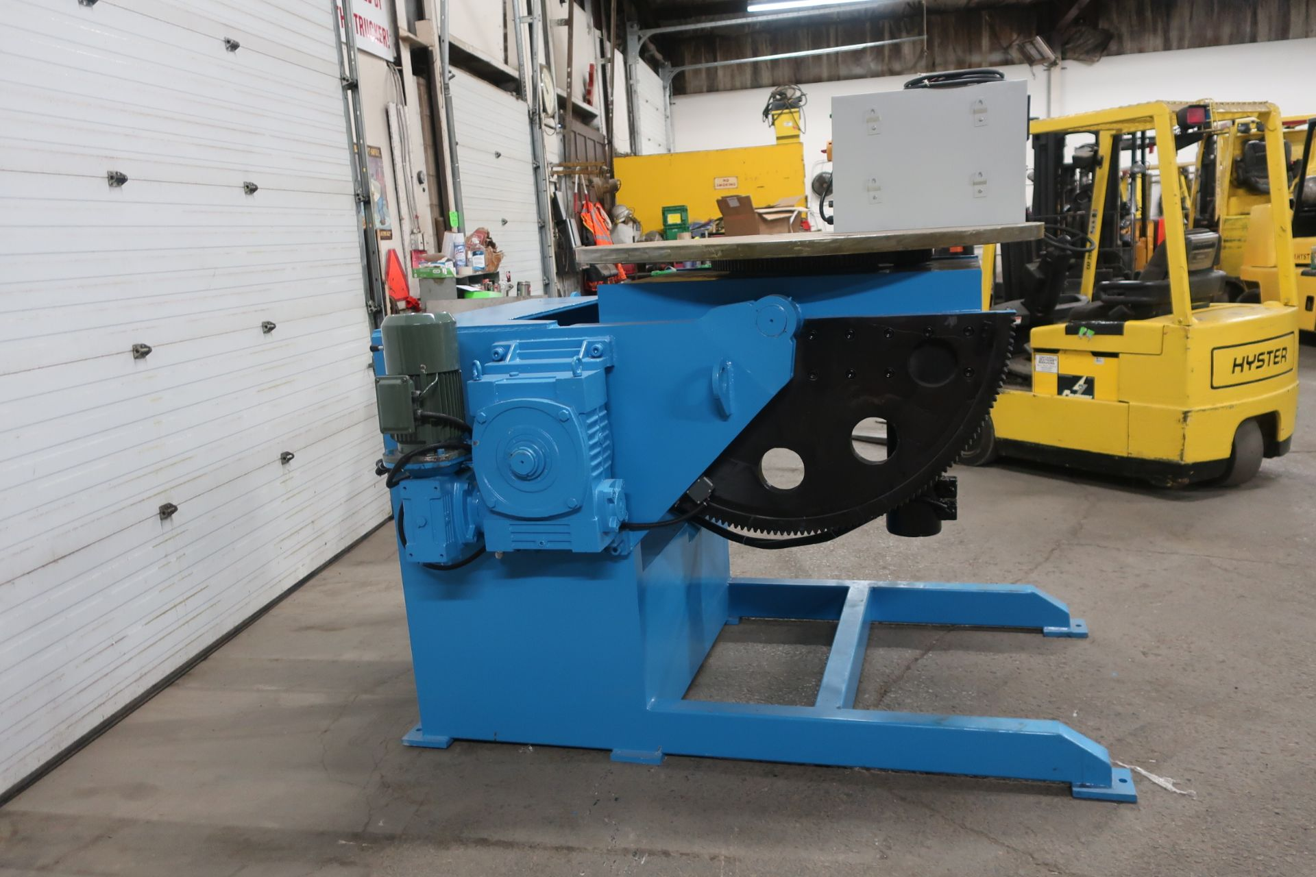 BWJ-30 WELDING POSITIONER 3000kg or 6600lbs capacity - tilt and rotate with variable speed drive and - Image 2 of 4