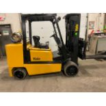 FREE CUSTOMS - Yale 10000lbs capacity LPG (propane) Forklift with 3-stage mast & sideshift (no