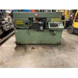Hyd-Mech H-14 Fully Automatic horizontal band saw automatic feed and auto bundling system NICE