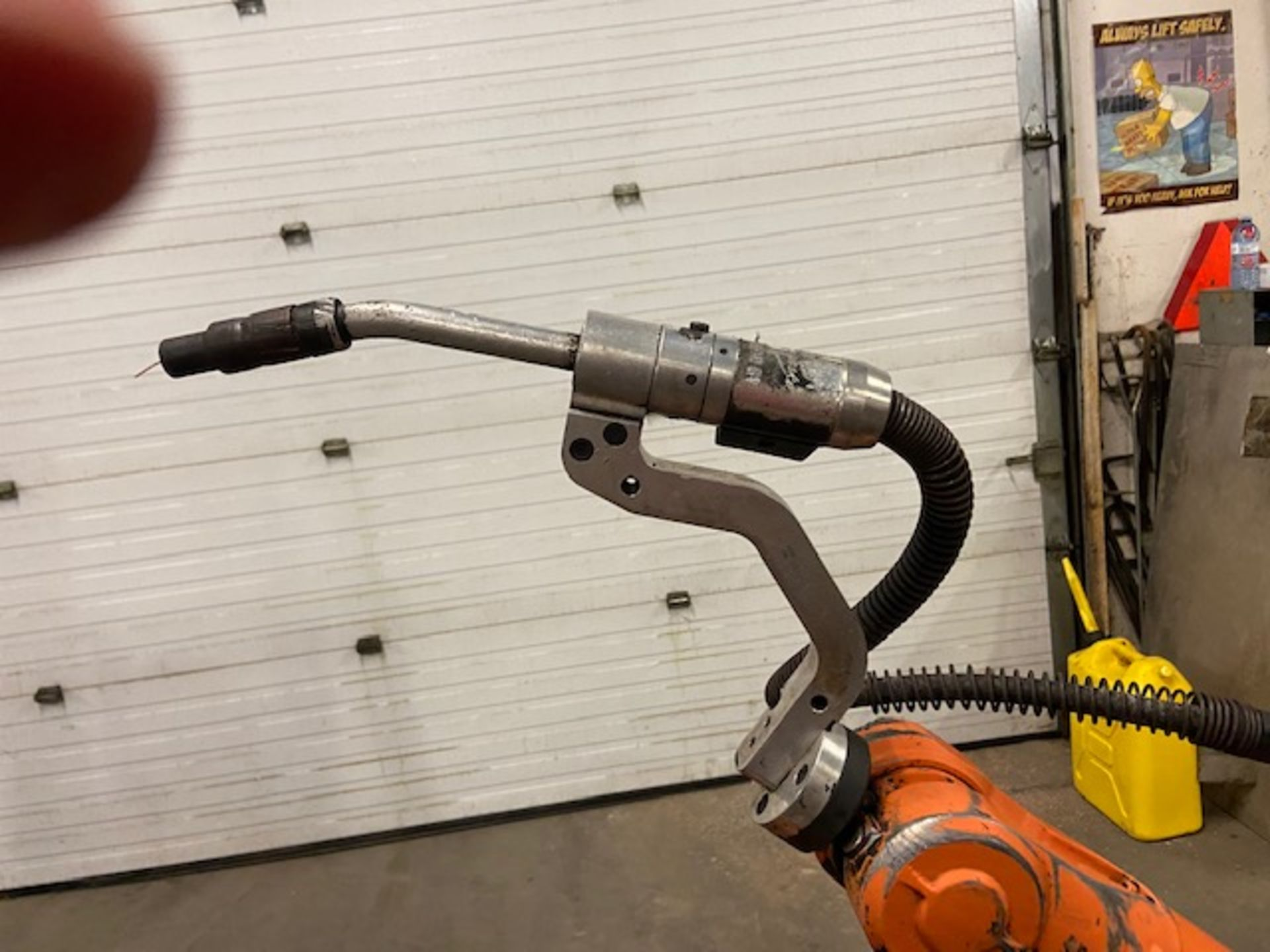 ABB IRB 2400 Robotic Weld Package w/ IRB2400 M2000 Controller, Miller Robotic Interface and Miller - Image 3 of 6