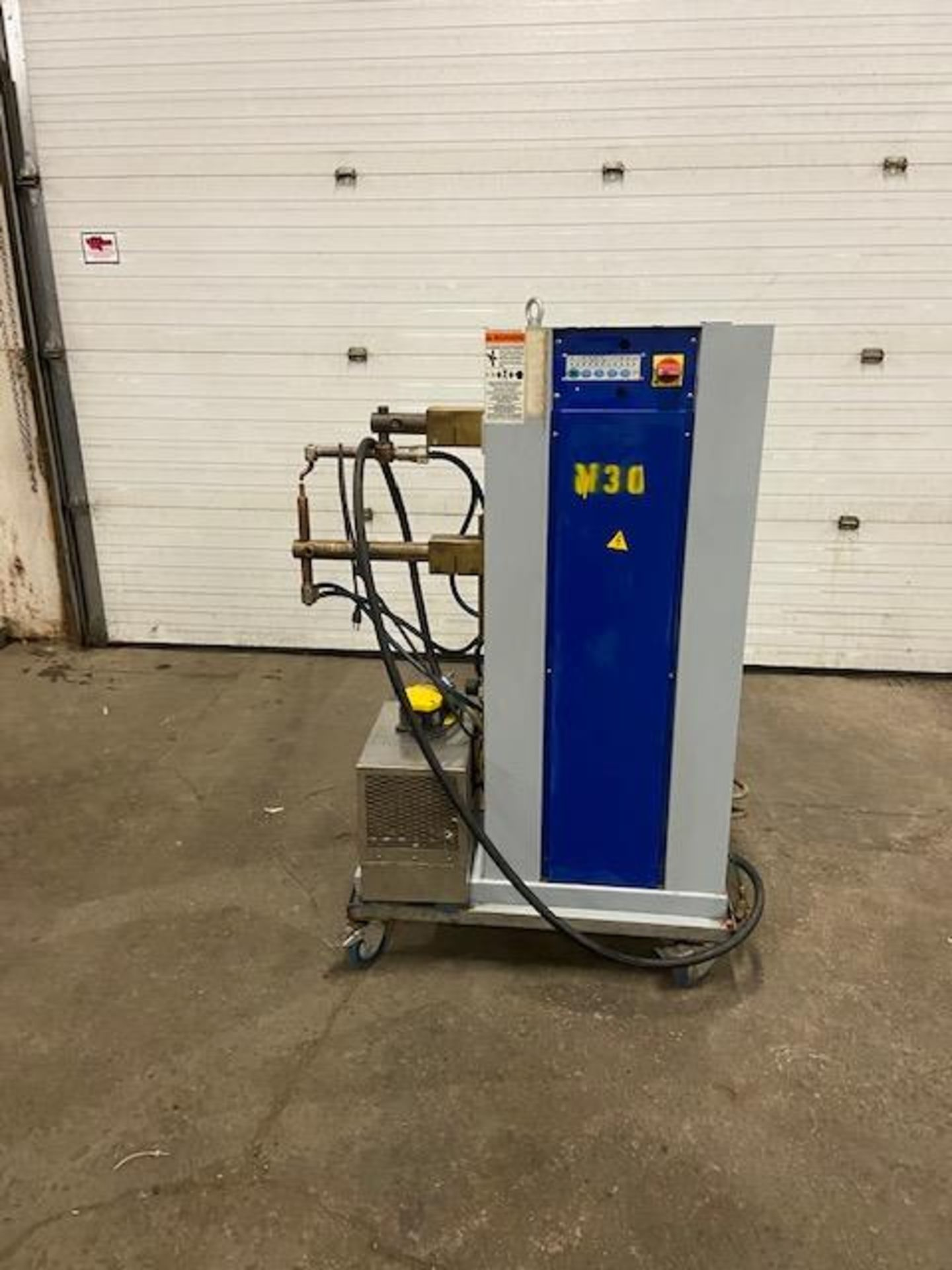 Mawer Spot Welder Unit 25 KVA model PBP162 PEI-POINT Made in Italy - 1 phase complete with foot