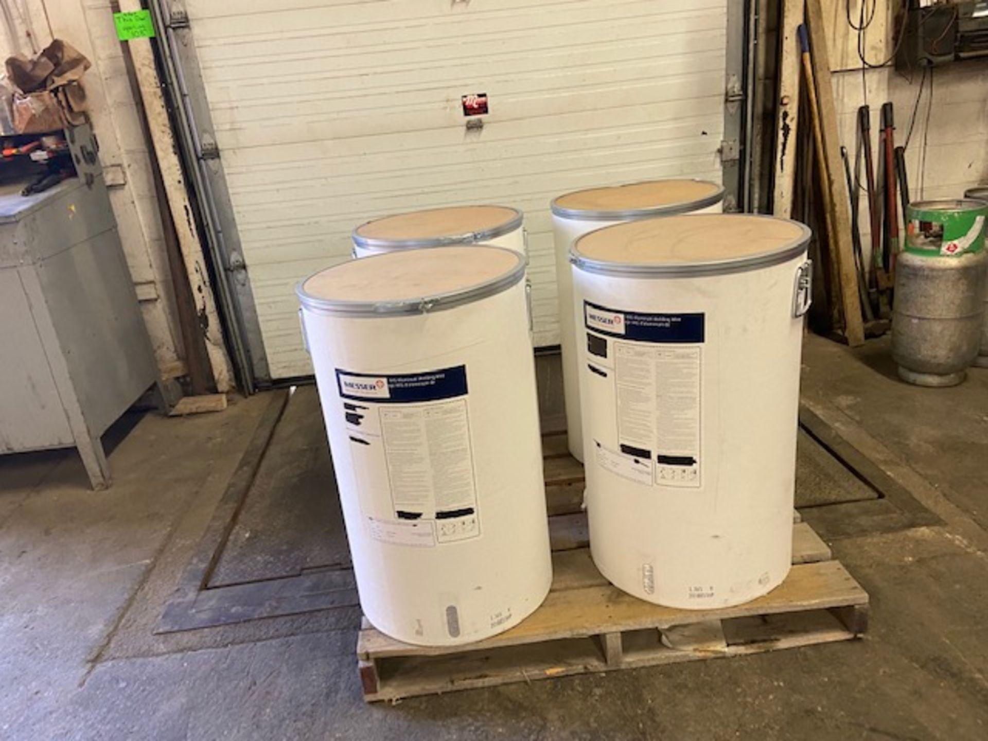 """Messer Linde Mig Welding Wire Aluminum DRUM Barrel 150lbs 3/64"""" ER 3043 - made in Switzerland"""