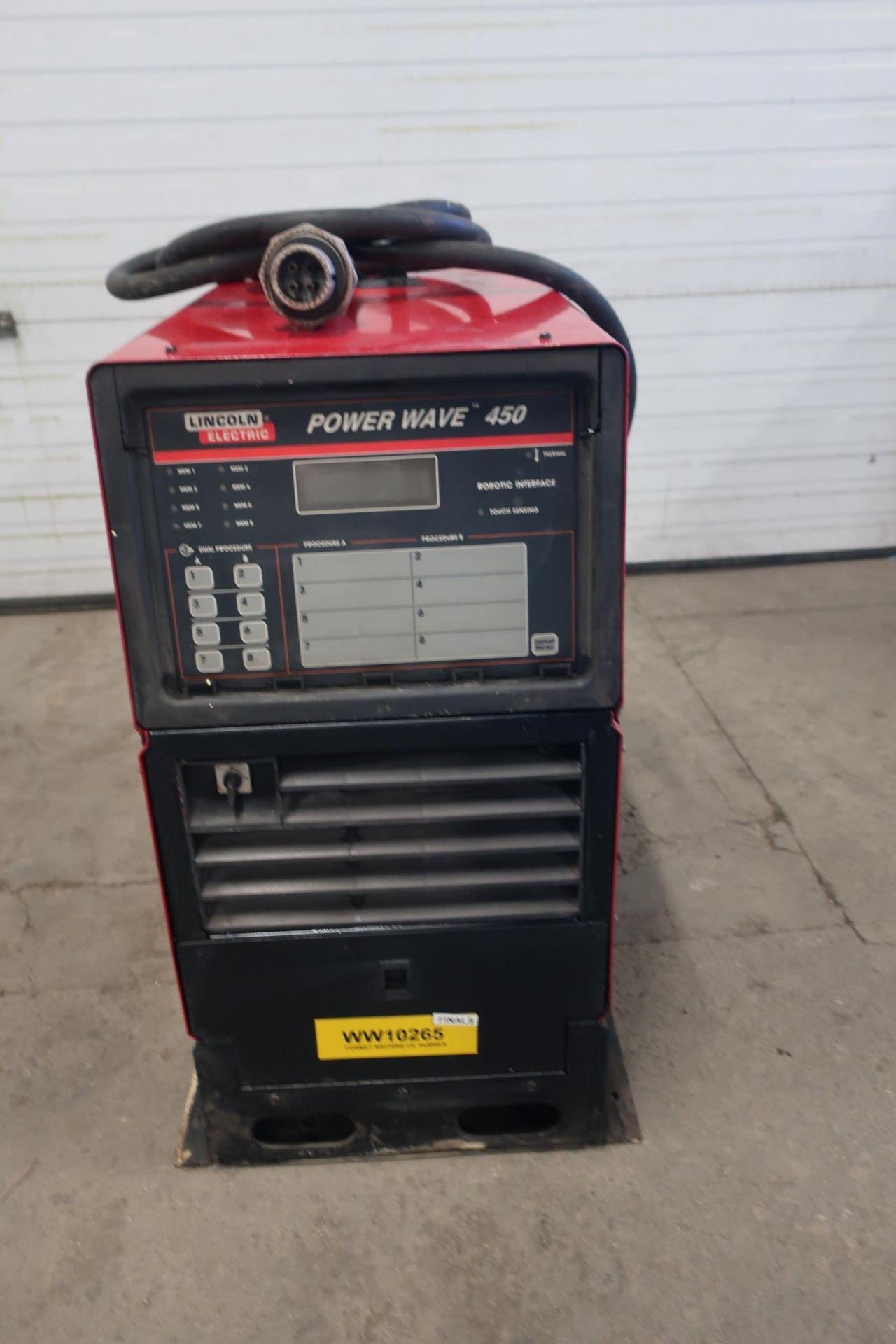Lincoln Powerwave 450 Robotic Mig Welding Power Source - 450 amp