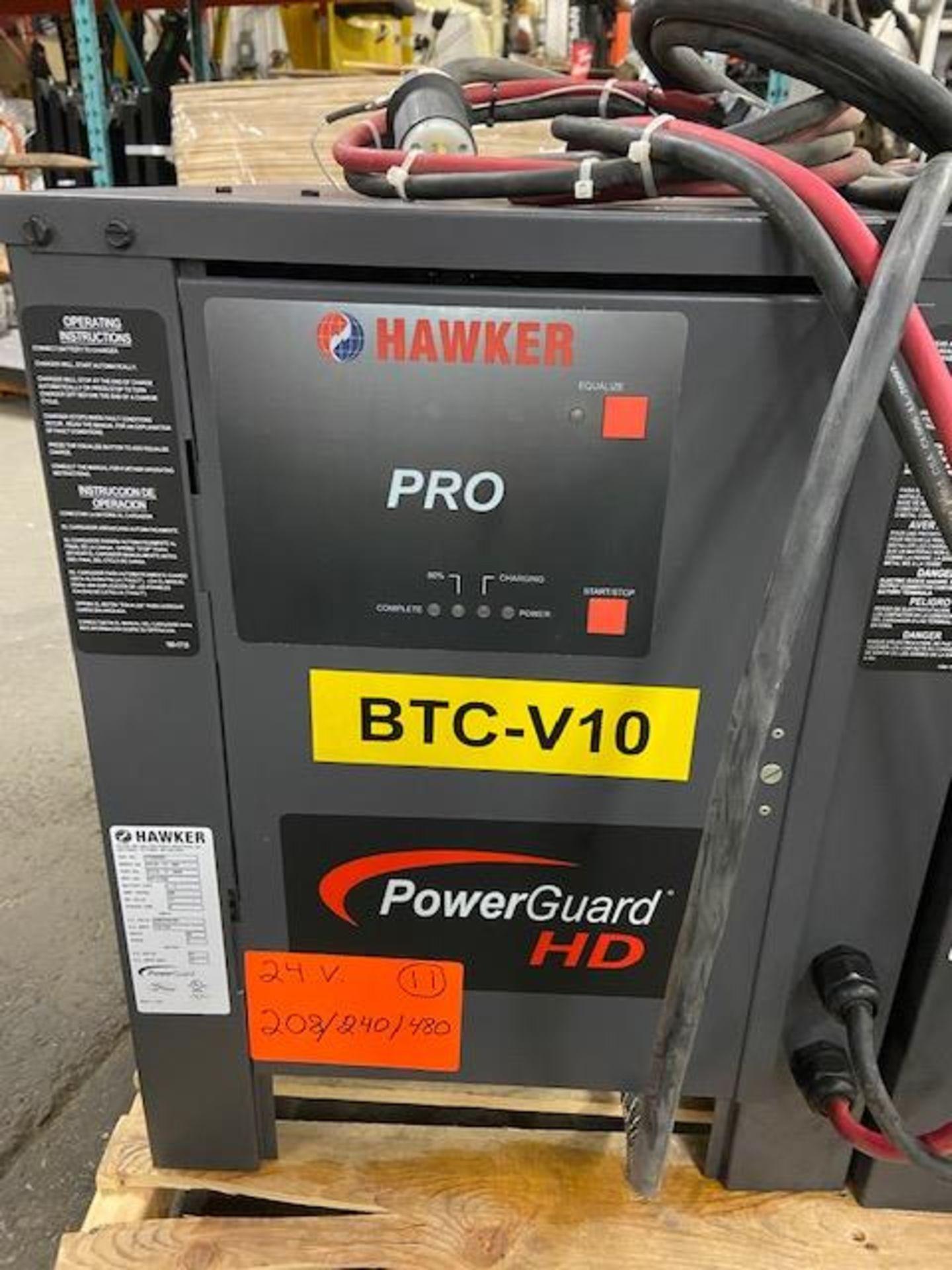 Hawker Pro PowerGuard HD Forklift Battery Charger 24V - 208/240/480V
