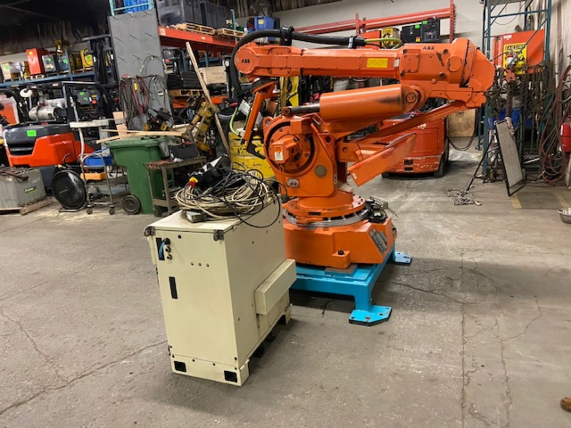 2008 ABB Robot IRB 6400 Handling Robot with ABB Controller & Teach Pendant and Cables complete - Image 3 of 4