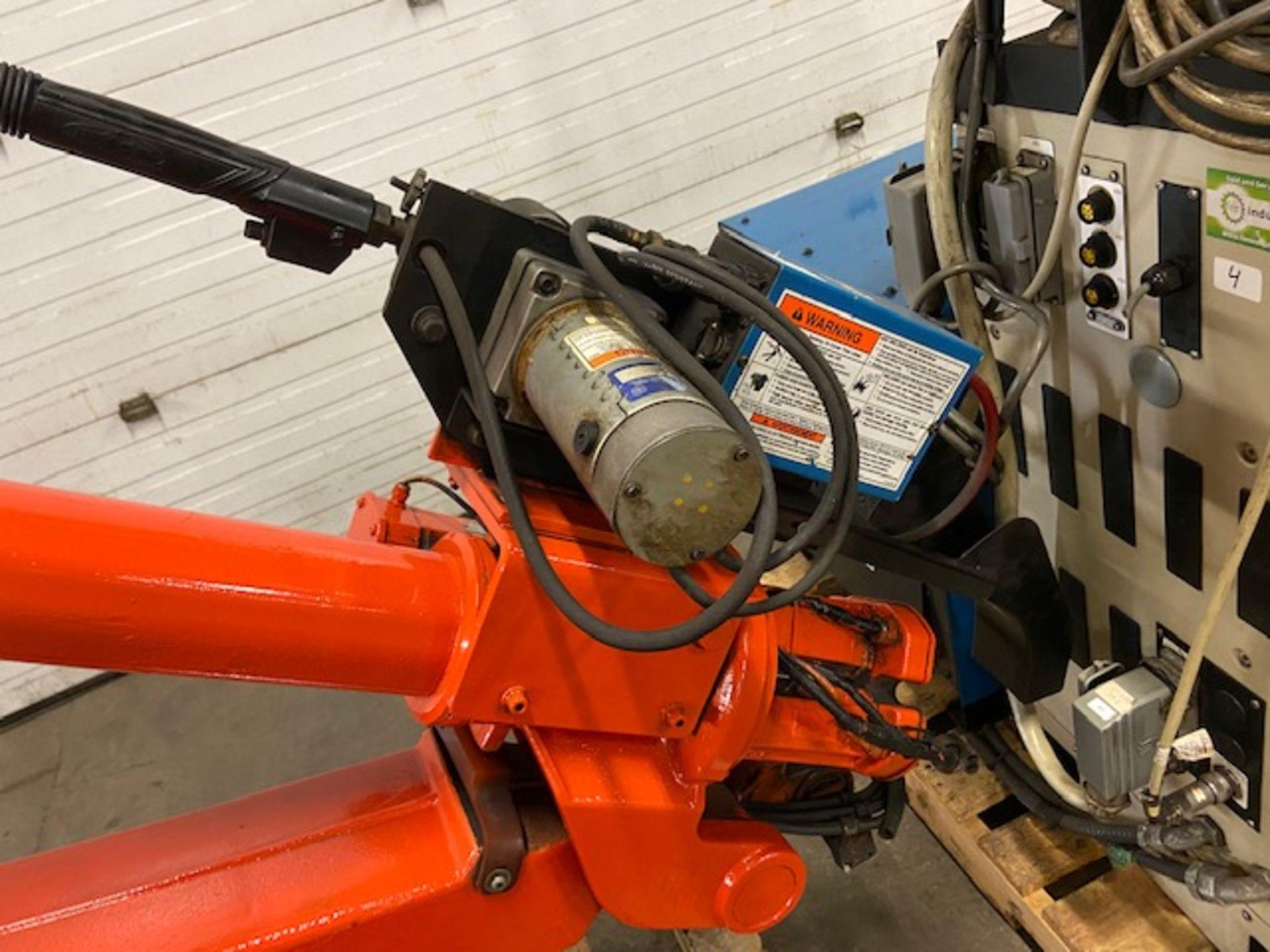 2004 ABB Robot IRB 2400 Welding Robot M2000 Control with Miller Deltaweld 452 450 Amp Mig Welder - Image 4 of 4