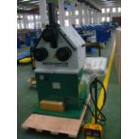 Bernardo Pyramid Angle Rolls - Tube Bender with hydraulic auto-clamping - 220V 3 phase with foot