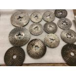 Lot of Diving Head Precision Discs