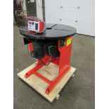 ***** Verner model VD-1500 WELDING POSITIONER 1500lbs capacity - tilt and rotate with variable speed
