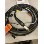 Lincoln Mig Gun / Whip 25 ' long 300 Amps MINT