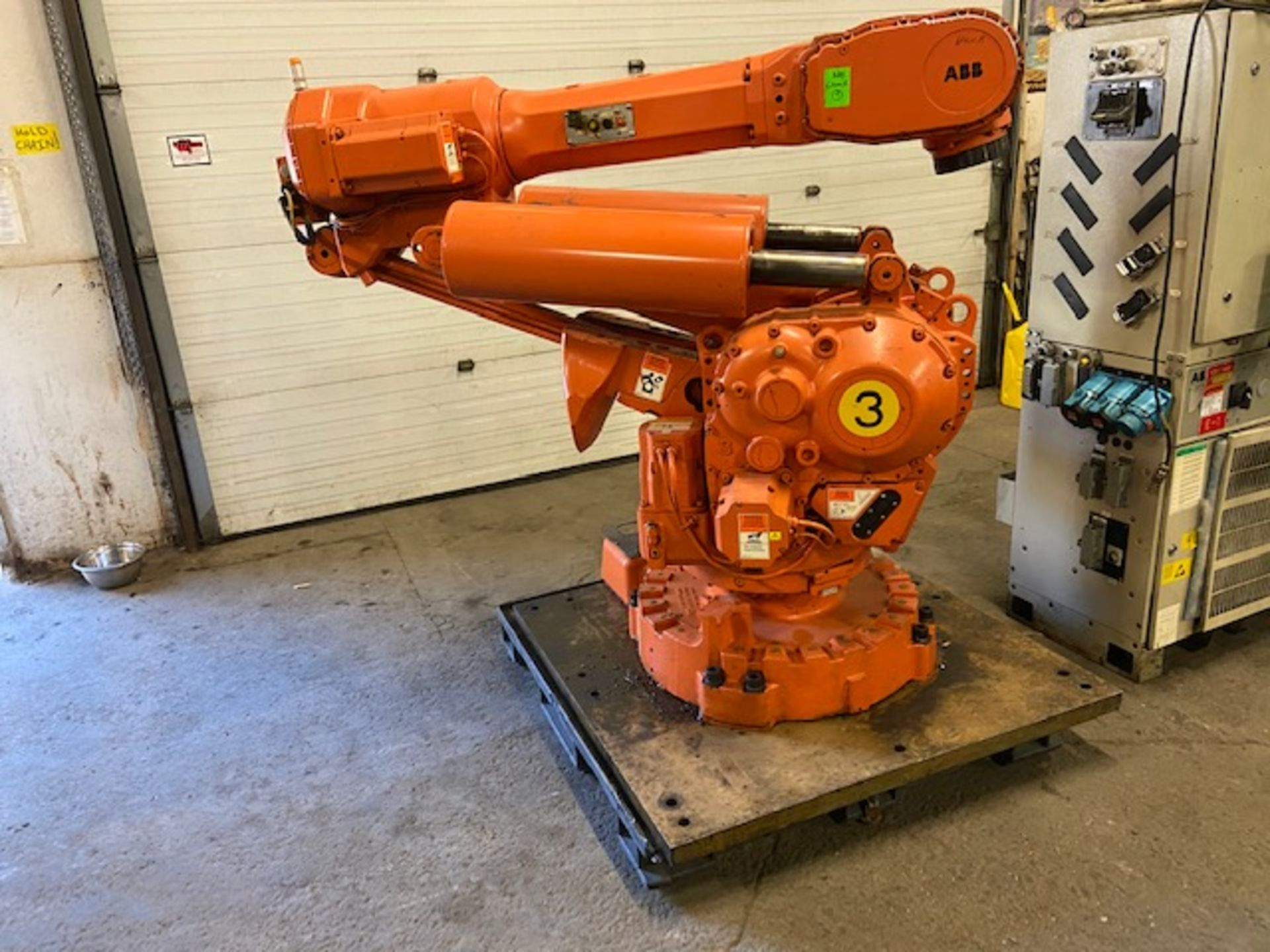 2008 ABB IRB 6400R Robotic Material Handler Package w/ Controller and end of arm tooling - Image 2 of 3
